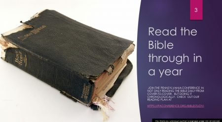 Read the Bible Through in a Year